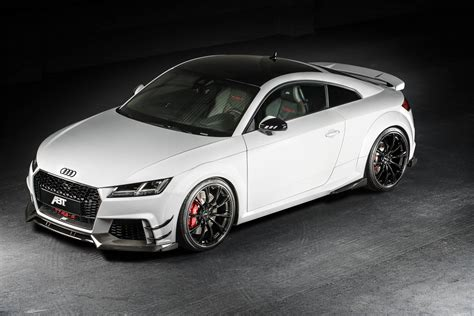 Ttrs Audi by Official Abt Audi Tt Rs R With 500hp Gtspirit