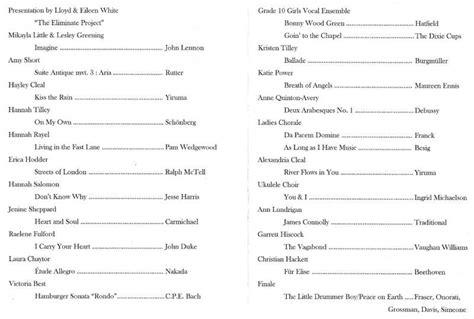 Show Program Template Invitation Template Fashion Show Schedule Template