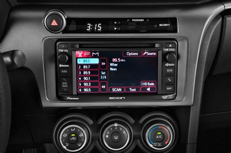2015 scion tc radio interior photo automotive