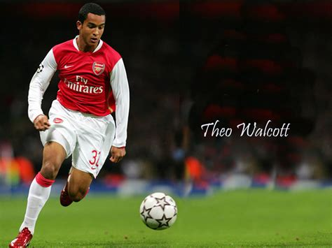 www theo theo walcott football wallpaper