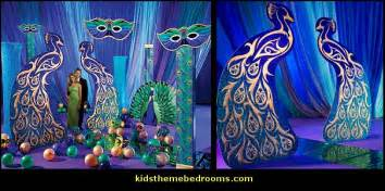 How To Decorate A Room With Purple Walls Decorating Theme Bedrooms Maries Manor Peacock Theme