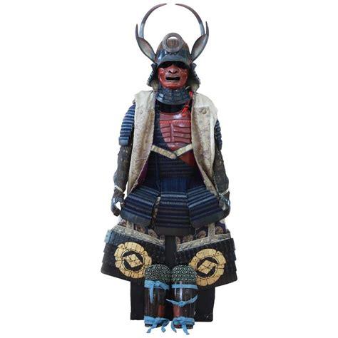 Original Armour 1 early 19th century yoroi japanese decorative samurai armour with original box for sale at 1stdibs