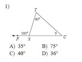 Congruent triangles exterior angle theorem easy