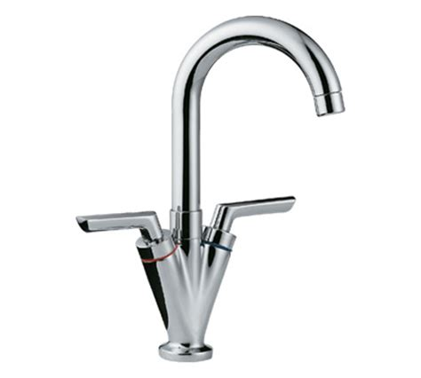 Plumbing Kitchen Taps Two Handle Single Kitchen Faucets Sanliv Kitchen