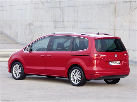 seat alhambra 2011 car photo 05 of 30 diesel station
