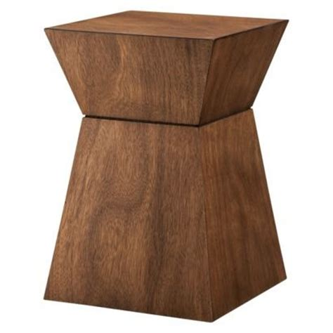 threshold washed wood l threshold accent hourglass wood bathroom stool