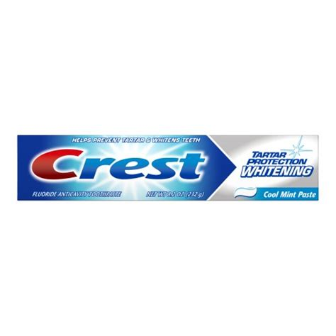 crest tartar protection cool mint whitening toothpaste 8 crest tartar protection and whitening toothpaste cool
