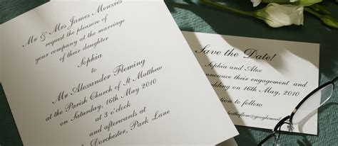 Classic Wedding Stationery by Shelley Personalised Wedding Invitations The Letter Press