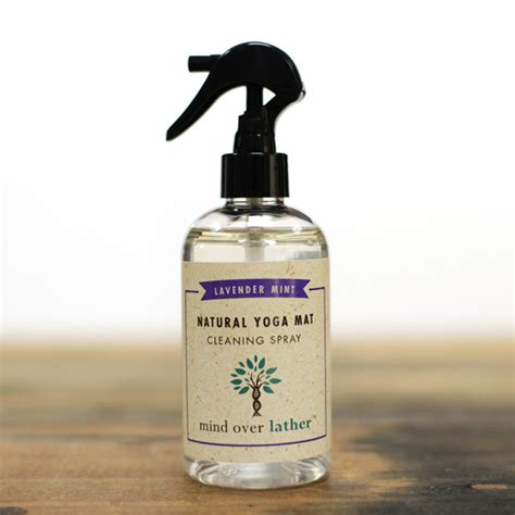 mat spray mind lather lavender mint mat cleaning spray