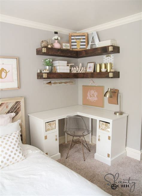 diy shelves for bedroom diy floating corner shelves sufey