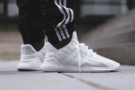 an on look at the adidas climacool 02 17 in white black in 2019 shoes adidas adidas