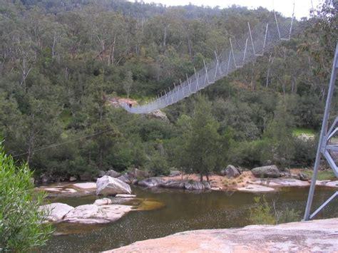 river swing bowtells swing bridge jenolan state forest 06 08 2011