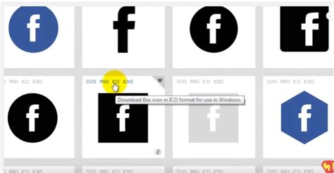 design my icon how to create a facebook icon on the desktop