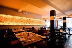 gastronomie dekoration contemporary restaurant wall interior decoration glass