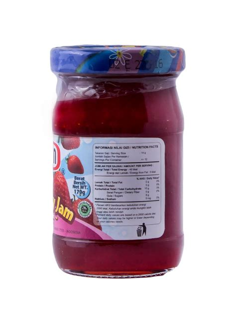 morin jam strawberry btl 170g klikindomaret