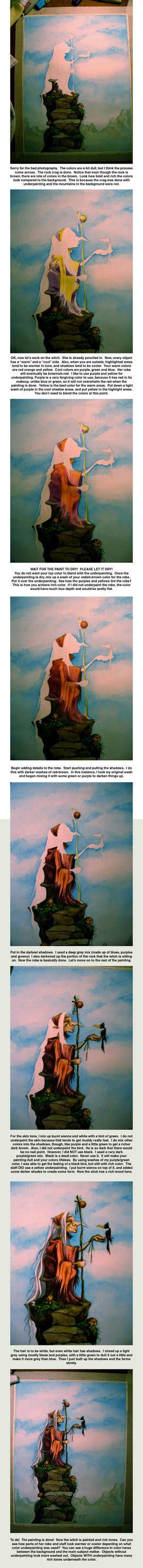 watercolor underpainting tutorial underpainting tutorial by isynia artessa on deviantart