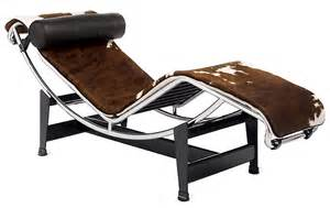 Cowhide Chaise Lounge Lc4 Chaise Longue Design Within Reach