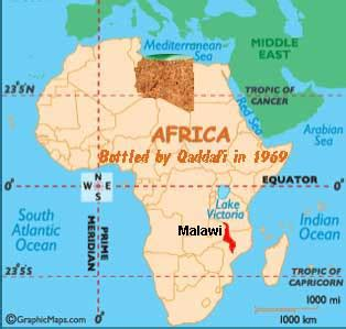 map of africa with countries labeled r 243 żne linux post qaddafi malawi gets new president