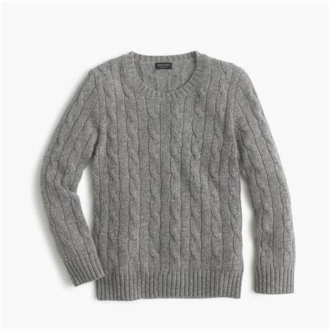 Sweater Boys cable crewneck sweater boys sweaters j