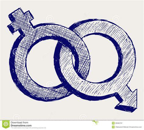 Imagenes Simbolos De La Sexualidad | male and female sex symbol royalty free stock photography