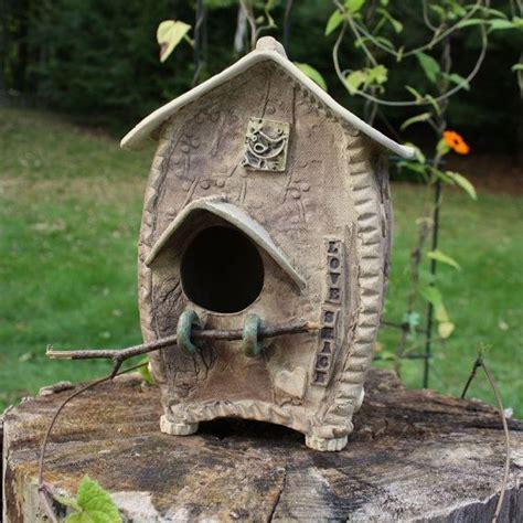 Ceramic Birdhouses Handmade - 103 best ceramic bird houses feeders animal themed