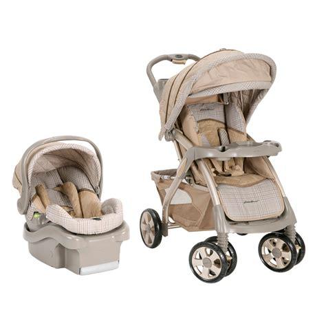 eddie bauer travel system stroller and infant car seat