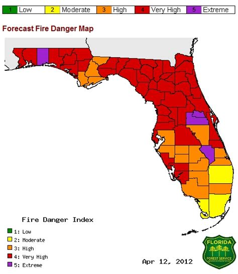 florida wildfires 2012 florida wildfire awareness week