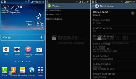 android update galaxy s4 i9500xxuemj5 firmware brings android 4 3 to samsung galaxy s4 gt i9500 the android soul
