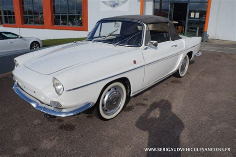 renault caravelle for sale berigaud v 233 hicules anciens renault caravelle 1100 s