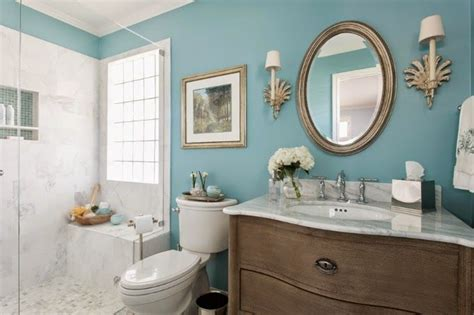 using bold colors in the bathroom when and how to do it paint colors turquoise and blue