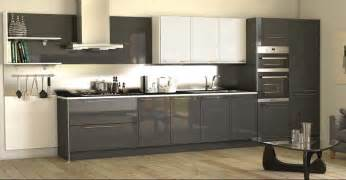 High Gloss Grey Kitchen Cabinets High Gloss Kitchen Cabinet Grey Http Makerland Org