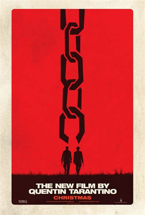 quentin tarantino new film django unchained first poster for new quentin tarantino