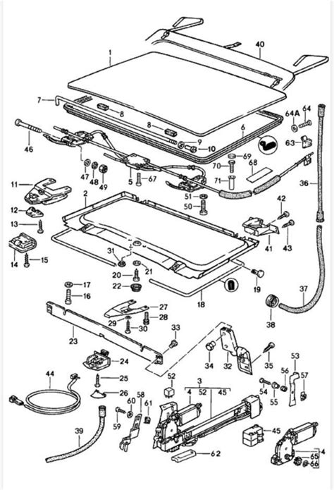 porsche oem parts porsche oem parts diagrams sunroof get free image about