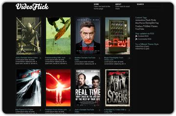 theme blog movie build a movie review blog with video flick theme wp solver