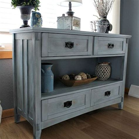 How To Age A Dresser by Give Chalk Painted Furniture An Aged Look With Aging