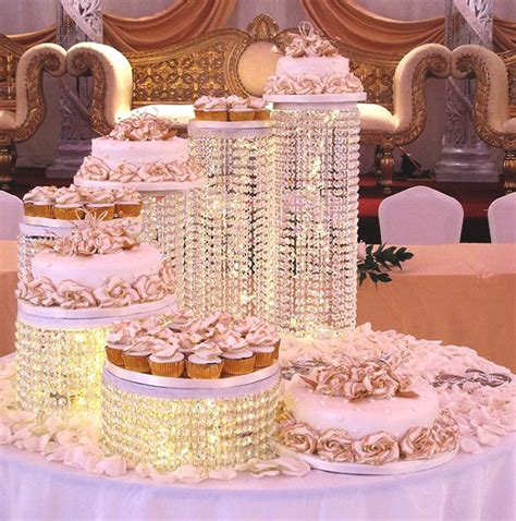 Wedding Cake Structures Pictures by 7 Tier Wedding Cake Structure With Cup Cakes Sri
