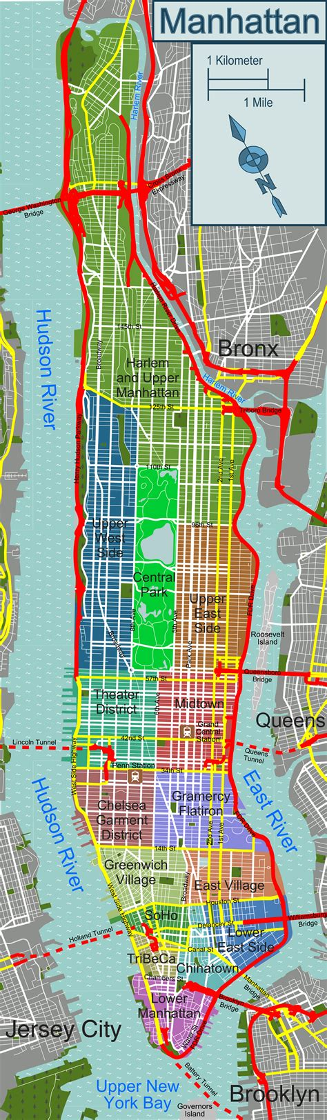 manhattan safety map technical information and team operations