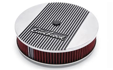 air cleaner new edelbrock elite series aluminum air cleaner assembly fast free shipping ie ebay