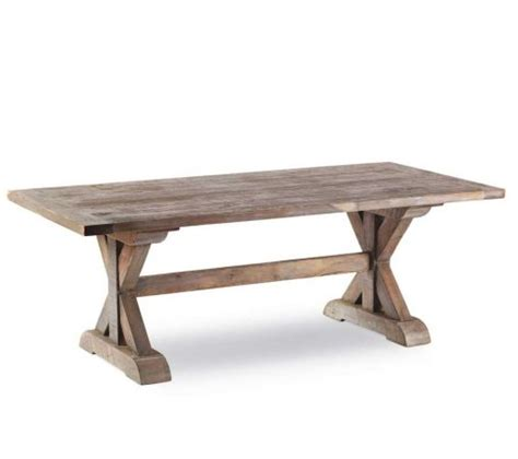 furniture mahogany outdoor dining table trestle table