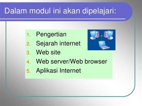 Modul Mengadministrasikan Server Dalam Jaringan Smj dan dasar web