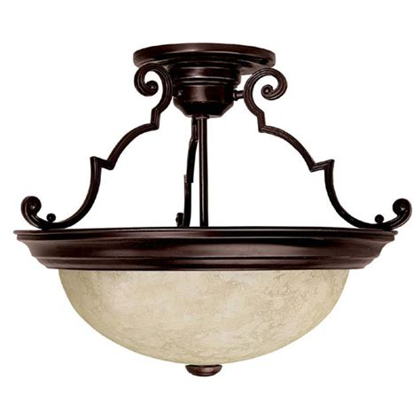 Mediterranean Light Fixtures Capital Lighting 2737mz Mediterranean Bronze 3 Light Semi Flush Ceiling Fixture Lightingdirect