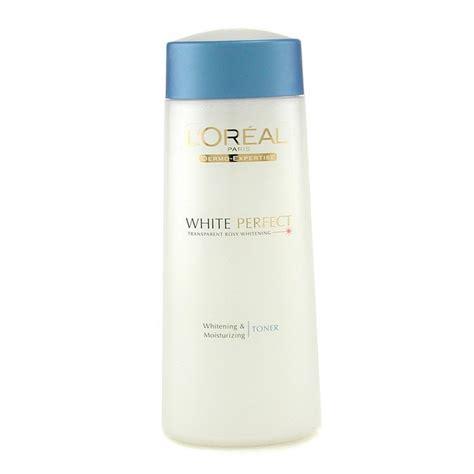 Loreal Whitening l oreal dermo expertise white whitening moisturizing toner skincare fresh