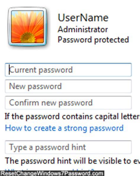 windows 7 reset password administrator account change administrator password on a windows 7 computer