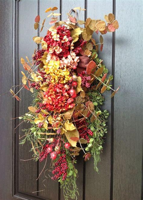 twig door swags forsythia door swag swags pinterest door 1000 images about fall door swags on pinterest front
