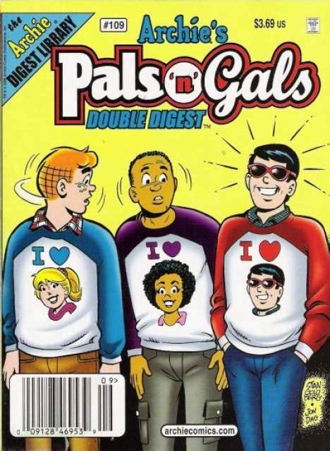No 104 Pals N Gals Digest Magazine archie s pals n gals digest magazine 91 issue