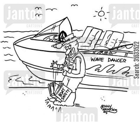 boat safety book boat safety cartoons humor from jantoo cartoons