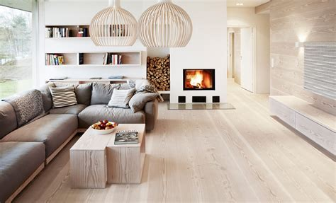 wood floor interior design ideas