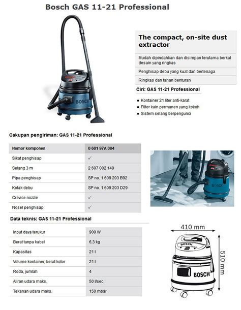 Motor Vacuum Cleaner Bosch 11 Italy vacuum cleaner bosch gas 11 21 automega automotive equipment