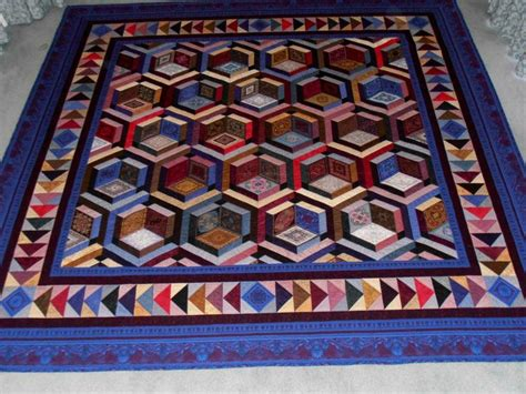 81 best images about optical illusion quilts on