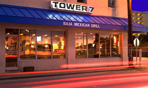 Tower 7 Menu Specials And Location Hours Baja House Grill